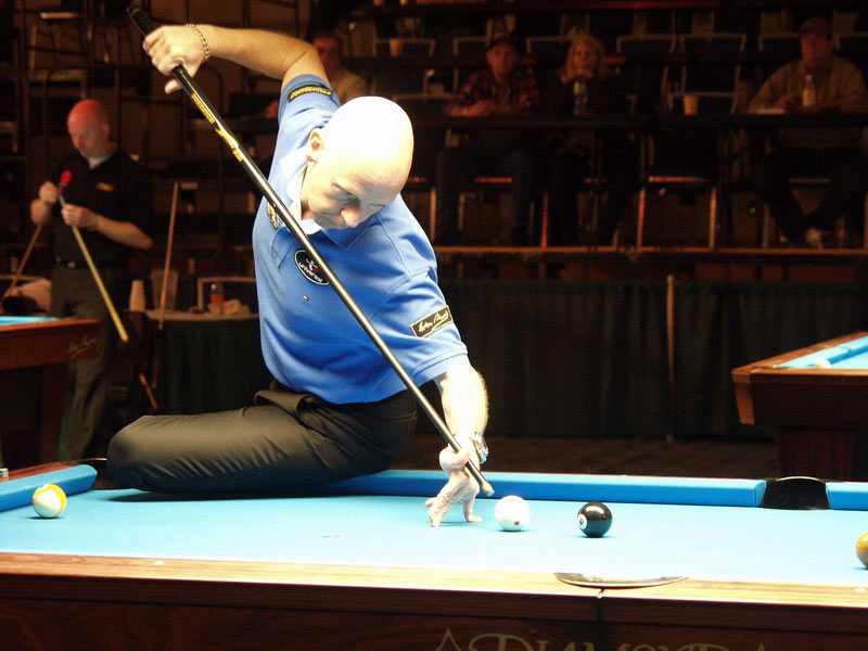 Ralf Souquet. Iwan Simonis snooker cloth