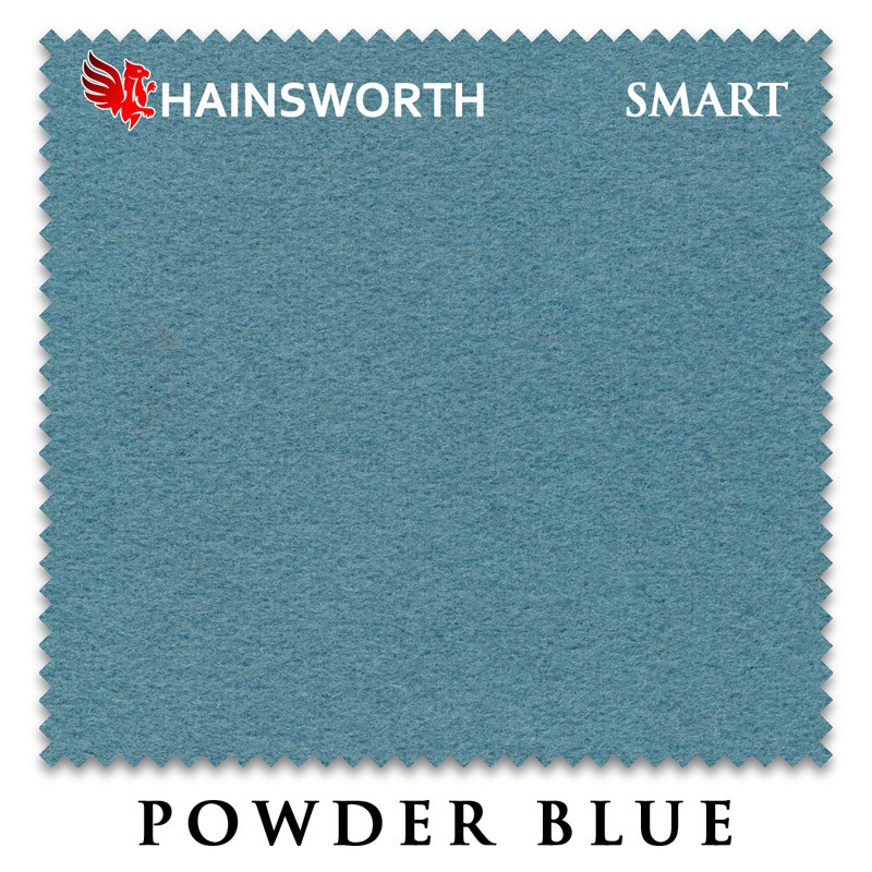 Сукно Hainsworth Smart Snooker 195см Powder Blue